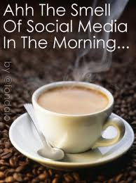 Wake up and smell the Coffee …..  get social in your ownbusinesses